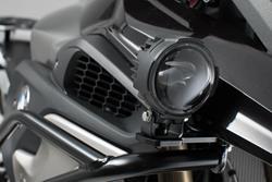 Scheinwerfer-Halter f. orig. BMW-Nebelscheinwerfer. Schwarz. BMW R1200GS LC (13-) / Rally (17-).