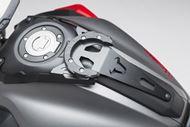 SW-MOTECH EVO Tankring. Schwarz. Yamaha MT-07 (14-17) / Moto Cage (15-16).