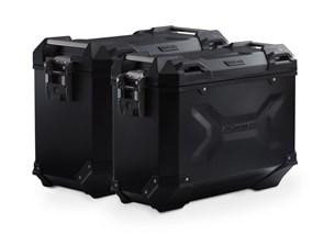 Bild von TRAX ADV Alukoffer-System. Schwarz. 45/37 l. CRF1000L Africa Twin (15-17).