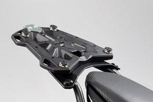 Bild von Adapterplatte für STREET-RACK Gepäckträger. Für TRAX Topcase ADV/ION/EVO. Schwarz.