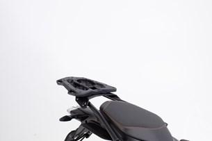 Bild von EVO Tankring für STREET-RACK Gepäckträger. Schwarz. Für EVO Tankrucksäcke. Mit Adapterplatte.
