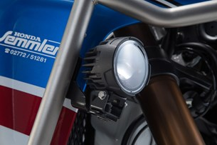 Bild von EVO Nebelscheinwerfer-Kit. Schwarz. Honda CRF1000L Adv Sports (18-).