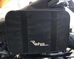 Richa Satteltasche Biker schwarz