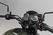 Navi-Halter im Cockpit. Schwarz. Kawasaki Z900RS/Cafe (17-).