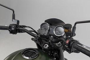 Bild von Navi-Halter im Cockpit. Schwarz. Kawasaki Z900RS/Cafe (17-).