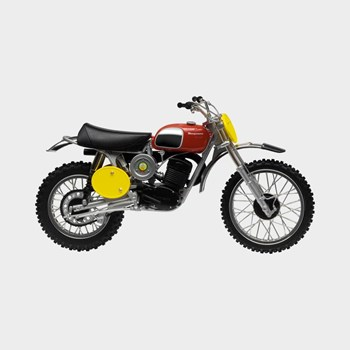 Bild von HUSQVARNA CROSS 400/70 MODEL BIKE