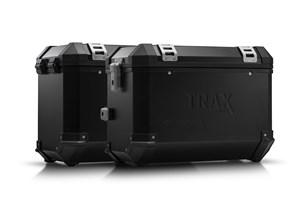 Bild von TRAX ION Alukoffer-System. Schwarz. 45/45 l. Suzuki DL1000 / Kawasaki KLV1000