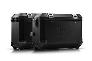 Bild von TRAX ION Alukoffer-System. Schwarz. 45/45 l. Kawasaki Versys 1000 (15-).
