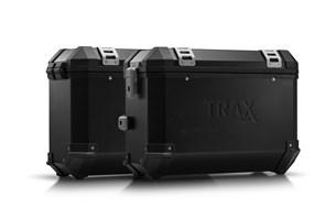 Bild von TRAX ION Alukoffer-System. Schwarz. 37/37 l. Kawasaki Versys 650 (07-14).