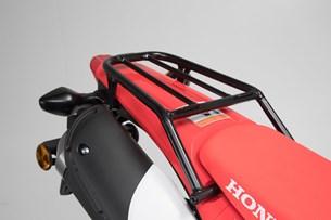 Bild von Stahlrohr-Gepäckträger. Schwarz. Honda CRF250L (12-)/ Rallye (17-).