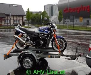 Bild von Motorradanhänger mieten Raum Linz und Raum Amstetten