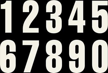 Bild von Startnummern