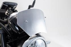 Windschild. Silbern. Kawasaki Z900RS (17-).