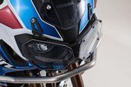 SW-MOTECH Scheinwerferschutz. Halterung mit Blende. CRF1000L Adv Sports (18-).