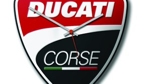Ducati Corse Wanduhr