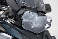 SW-MOTECH Scheinwerferschutz. Halterung mit Blende. BMW F 750 / 850 GS (18-).