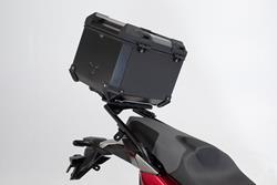 TRAX ADV Topcase-System. Schwarz. Honda X-ADV (16-).