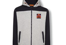 RB KTM RACING TEAM ZIP HOODIE GREY
