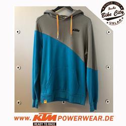 KTM Diagonal Hoodie Blue - L