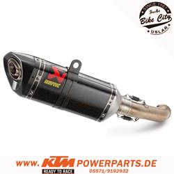 Akrapovic Enddämpfer KTM 125 & 390 Duke