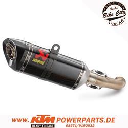 Akrapovic Enddämpfer KTM RC125 & RC390