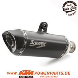 Akrapovic Enddämpfer KTM 1290 Superduke