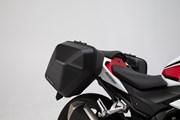 URBAN ABS Seitenkoffer-System. 2x 16,5 l. Honda CB500F (16-) / CBR500R (16-).