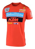 TLD TEAM TEE ORANGE