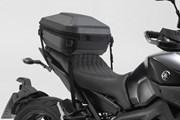 URBAN ABS Topcase. 16-29 l. Verzurrvariante. ABS-Kunststoff. Schwarz.