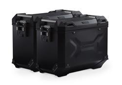 TRAX ADV Alukoffer-System. Schwarz. 45/45 l. BMW R 1200 R/RS, R 1250 R.