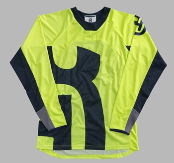 Bild von RAILED SHIRT YELLOW