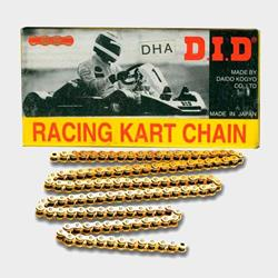 DID Racing Kartkette 219HTMDHA gold 112