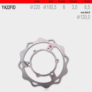 Bild von Bremsscheibe vorne WAVE fix YA22FID