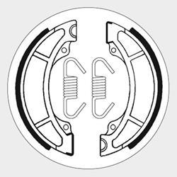 Bremsbacken SBS 2108
