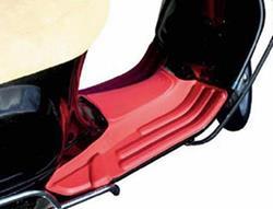 Fußmatte Vespa S50/LX50/125/150 rot