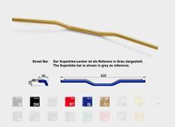 Lenker LSL StreetBar 22mm Alu blau A00