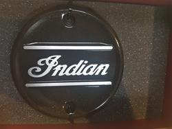 Motorabdeckung Indian, Bronze