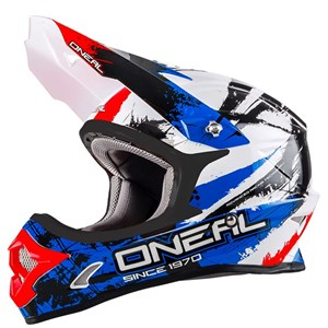 Bild von O´Neal Serie 3 SHOCKER black/blue/red