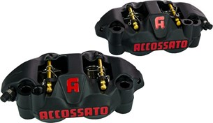 Bild von Accossato set of forged brake calipers, Type: Set of calipers | PZ002-SD-ZXC