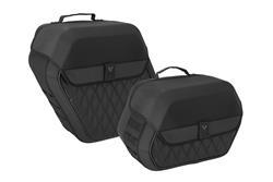 Legend Gear Seitentaschen-System LH. Harley-Davidson Softail Slim (12-17).