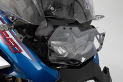 Scheinwerferschutz. Halterung mit Blende. BMW F850GS Adv (18-).