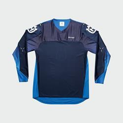 Railed Shirt Blue L