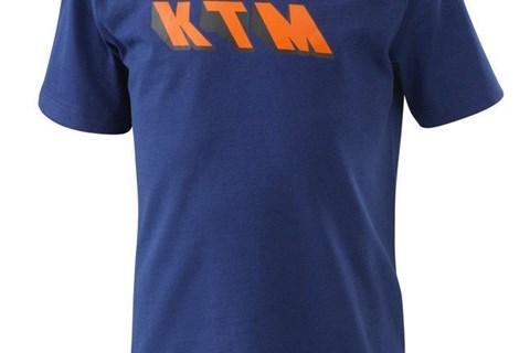 KTM KIDS RADICAL TEE_BLUE