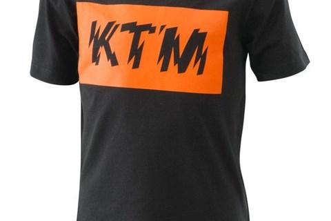 KTM KIDS RADICAL LOGO TEE BLACK