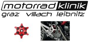 Bild von Kupplungsdruckplatte von Ducati Performance in Sternoptik rot inkl. Lager Federteller und Unterlegscheiben passend für alle Trockenkupplungen statt € 166 nur€ 83