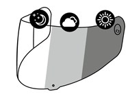 X-SPIRIT III CWR-1 PHOTOCROMIC VISOR