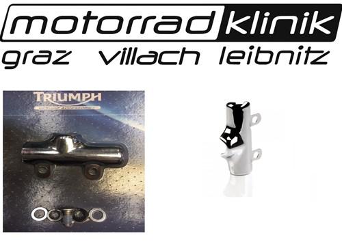 Triumph Chromabdeckung für den hinteren Hauptbremszylinder Thunderbird 1600 /1700 statt € 30 nur €15