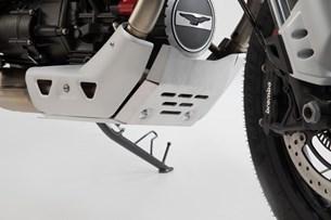 Bild von Motorschutz. Silbern. Moto Guzzi V85 TT (19-).