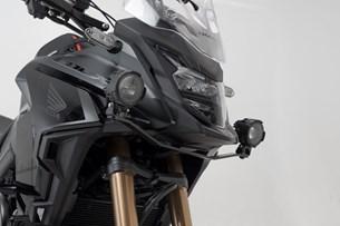 Bild von Scheinwerfer-Halter. Schwarz. Honda CB500X (18-).