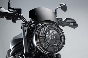 Bild von Windschild. Schwarz. Suzuki SV650 ABS (15-).